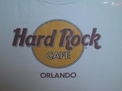 Hard Rock Cafe T Shirt Collection